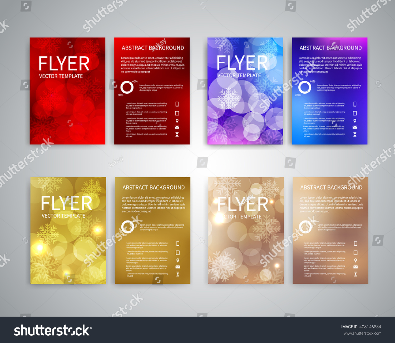 christmas flyer design templates set of a brochure flyer design christmas flyer design templates set of a4 brochure flyer design templates bokeh lights and
