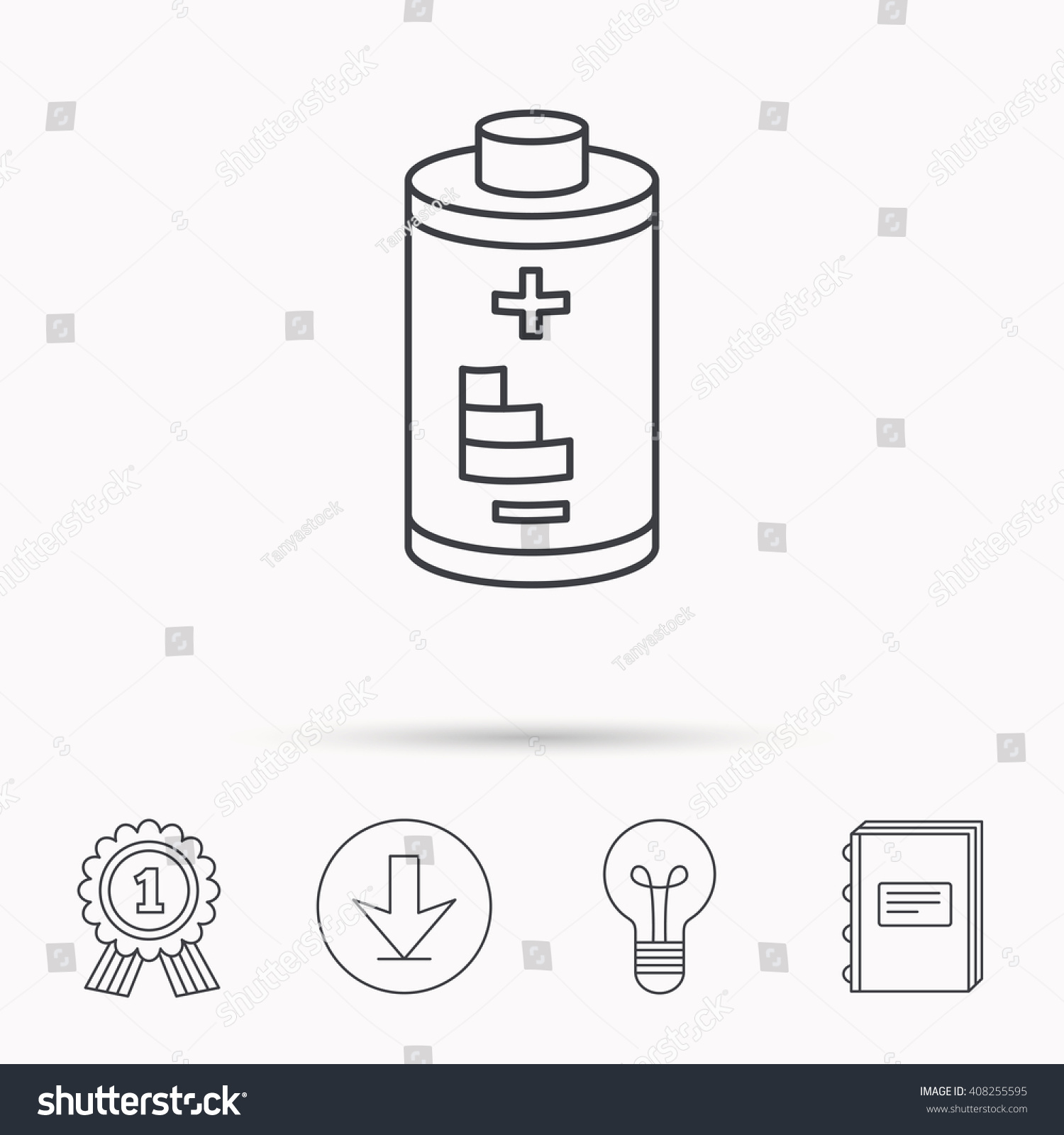 Old Fashioned Electrical Battery Symbol Component - Electrical ...