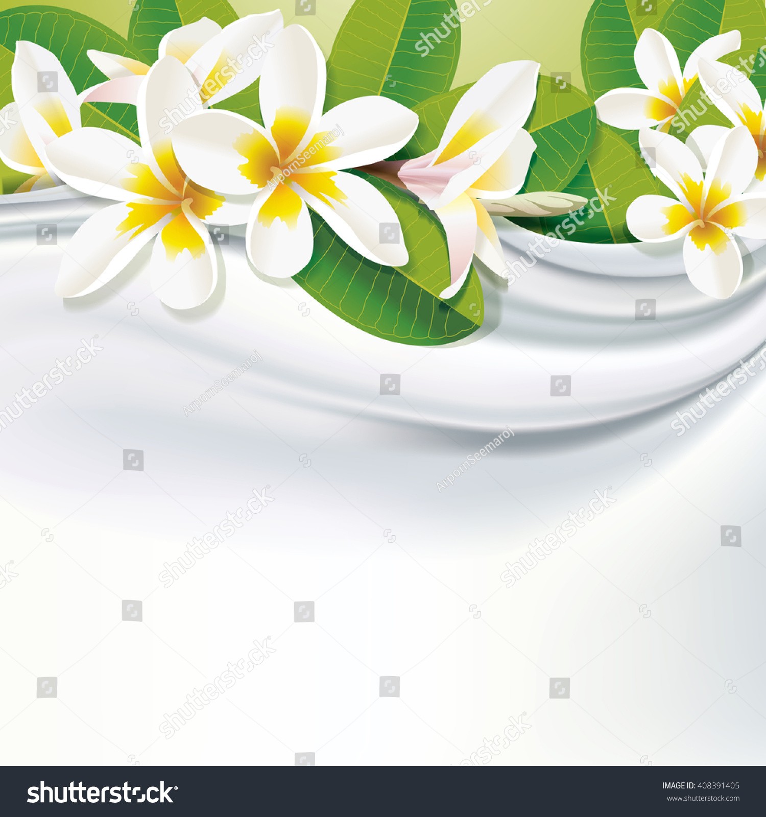 Vector White Fabric Silk Background White Stock Vector Royalty Free