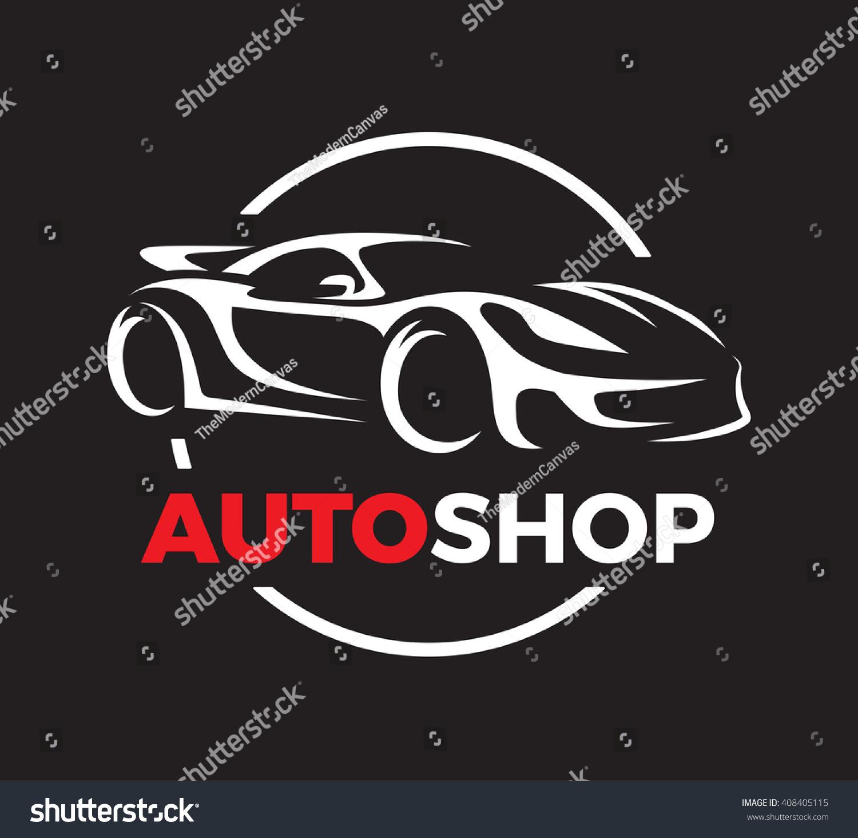 Original Auto Motor Concept Design Super Stock Vector