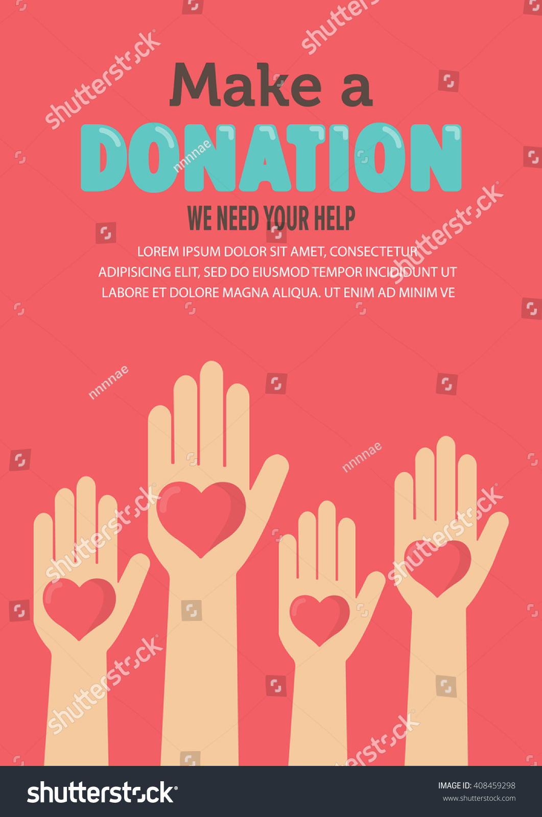 Poster design help - Give And Share Your Love To Poor People Charity And Donation Poster Set Flat