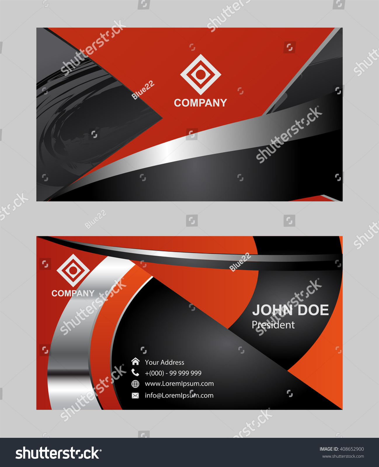 Business Card Design With Photo Images - Free Business Cards