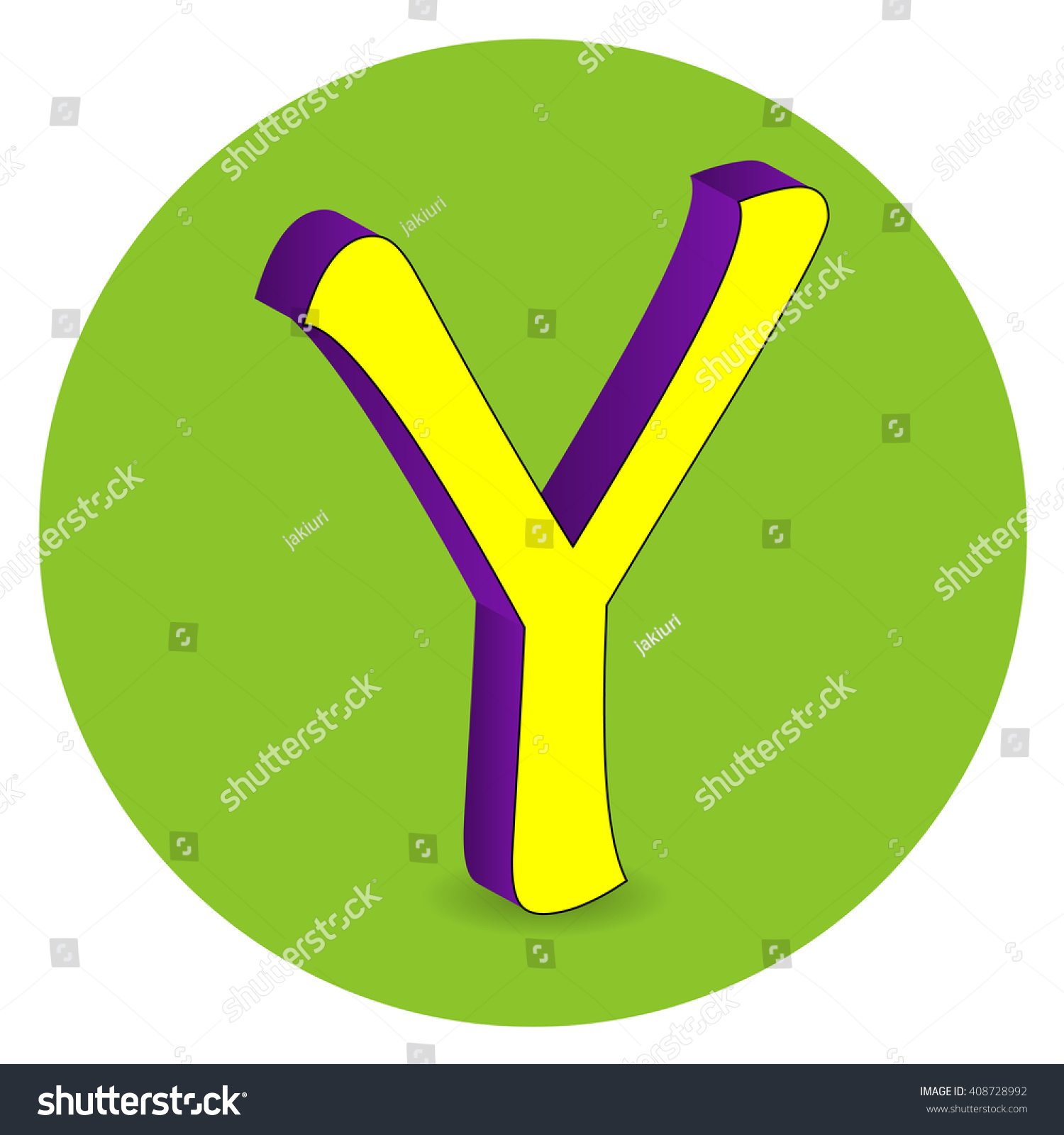 3d purple yellow letter y on stock vector 408728992 shutterstock 3d purple and yellow letter y on green circle background sciox Images
