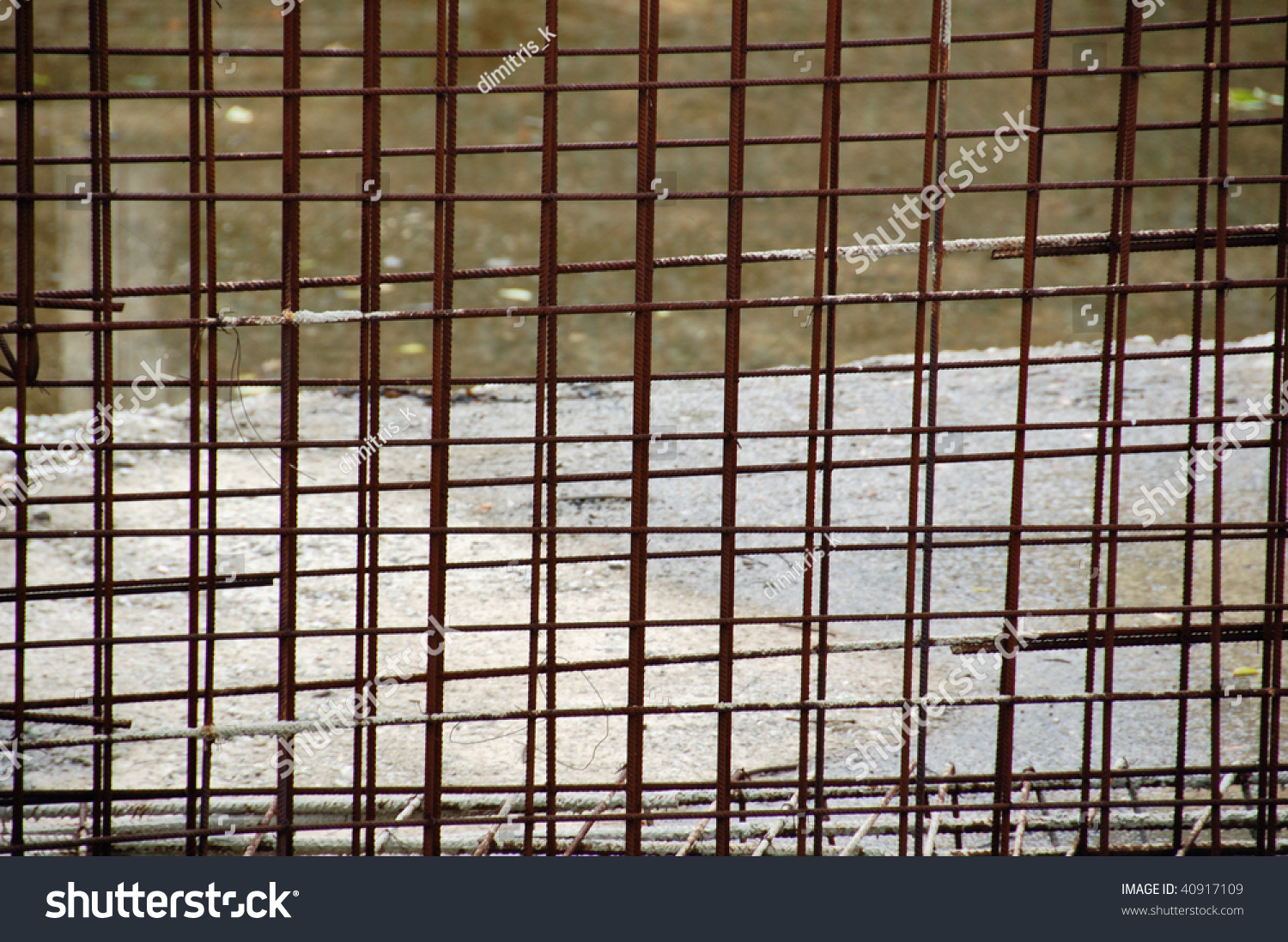 Wire Mesh Fence Panels rusty metal wire mesh fencing panel stock photo 40917109
