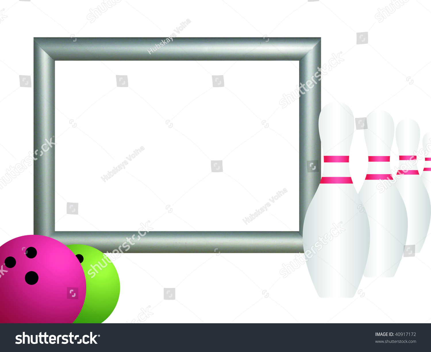 Unique Frame Bowling Pattern - Picture Frame Ideas ...
