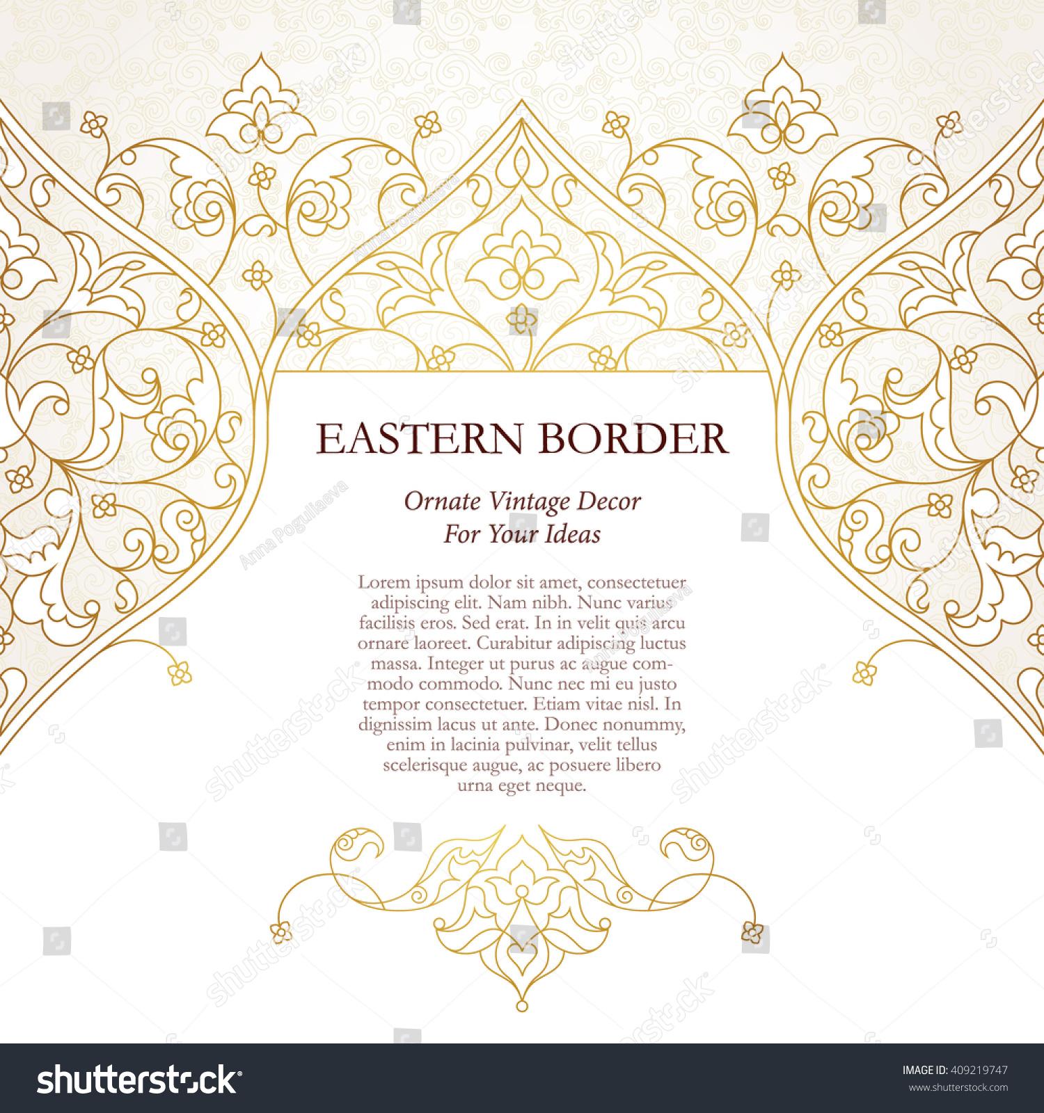 Border Design Template Vosvetenet – Paper Border Designs Templates