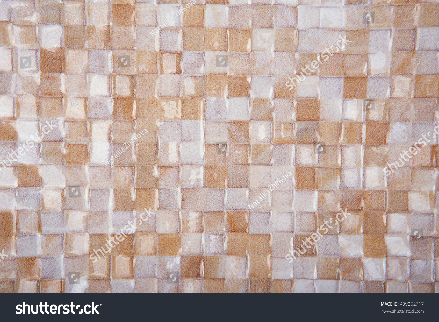 Mosaic Tiles Texture Background Classic Ceramics Stock Photo ...