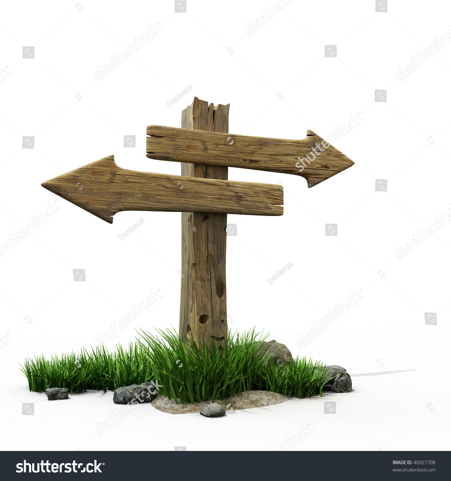 an old wooden road sign stock photo 40927708 shutterstock