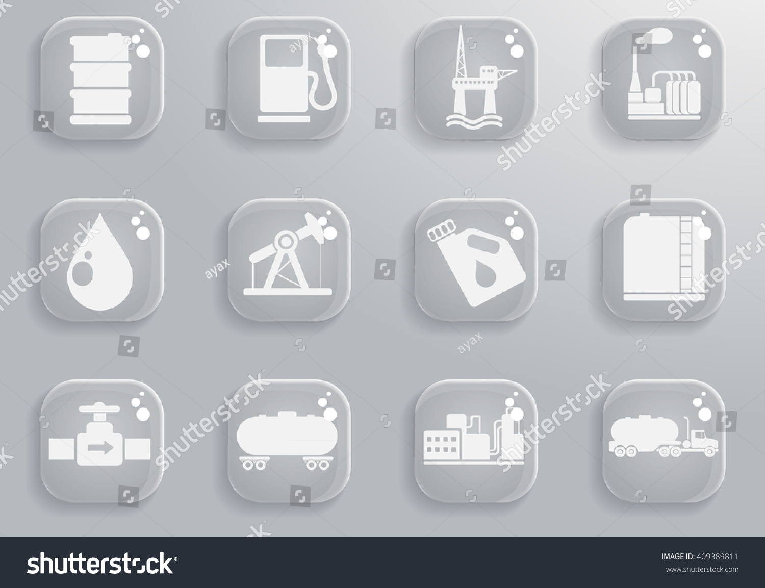 Oil petrol industry objects simply symbols stock vector 409389811 oil and petrol industry objects simply symbols for web and user interface buycottarizona