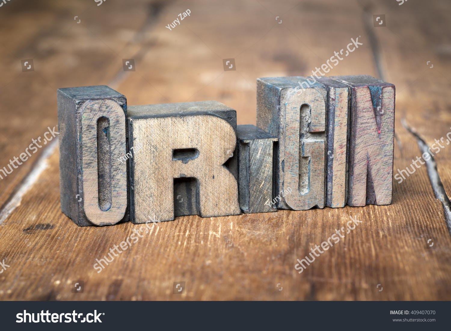 Origin Word Made Wooden Letterpress Type Stock Photo Edit Now Printed Circuit Board Manufactureronline Quoteprinted From On Grunge Wood