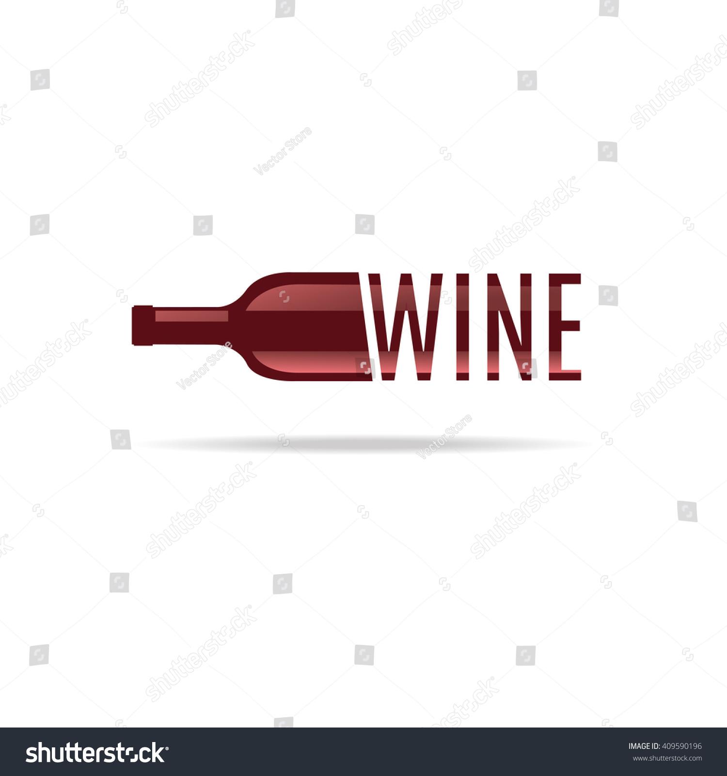 Bottle wine icon symbol menu bar stock vector 409590196 shutterstock bottle of wine icon and symbol for the menu bar restaurant biocorpaavc Gallery