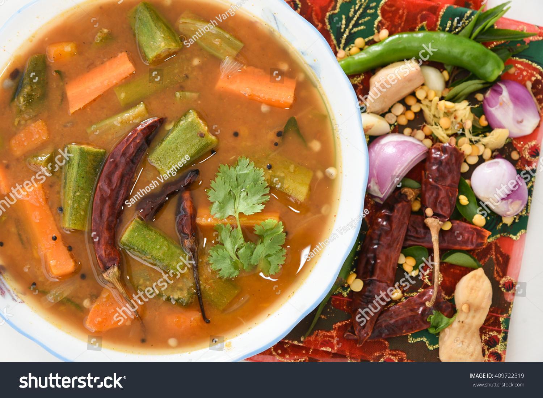 Royalty-free Sambar South Indian curry/ dish, Kerala… #409722319