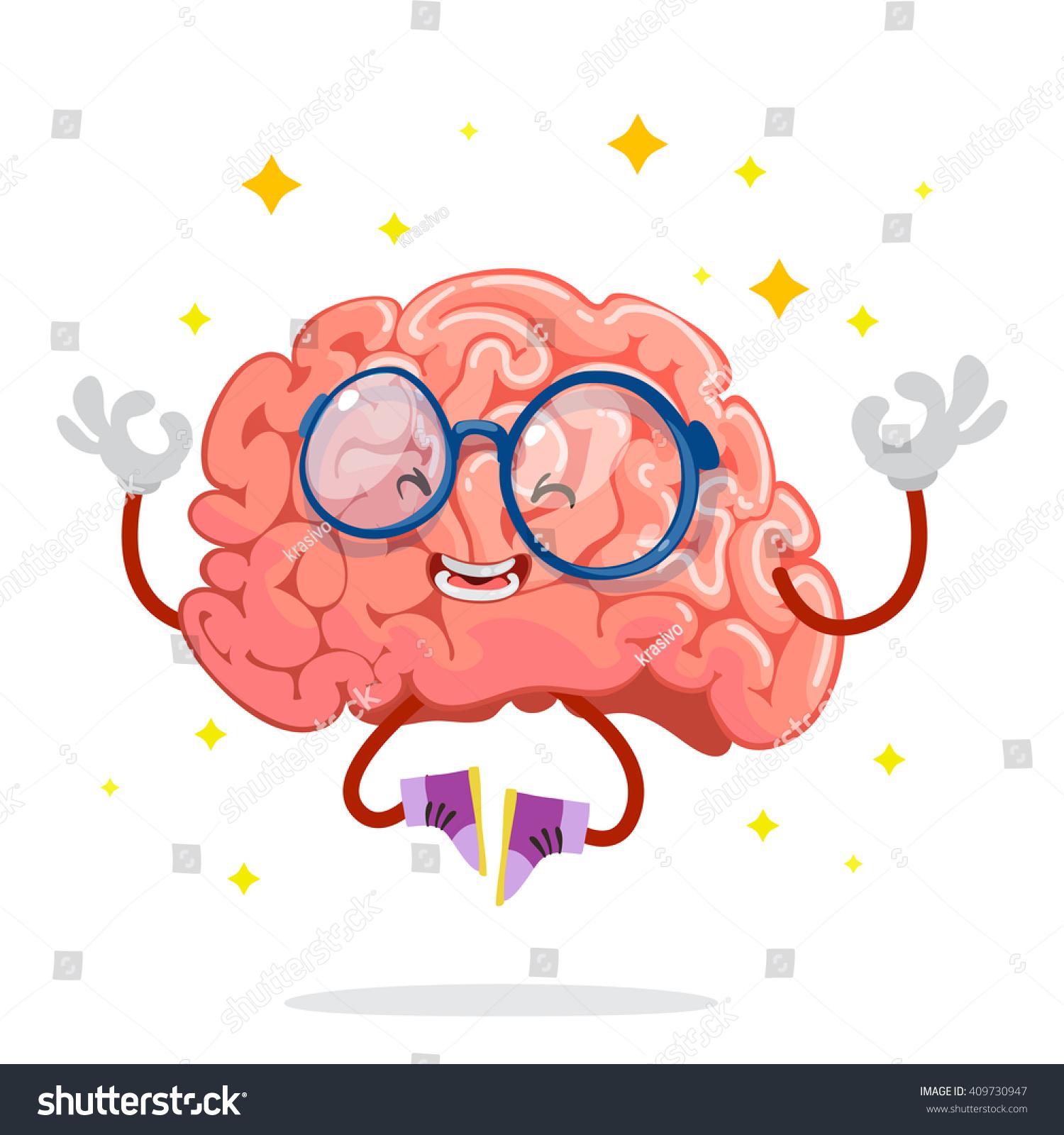 Brain With Glasses Logo