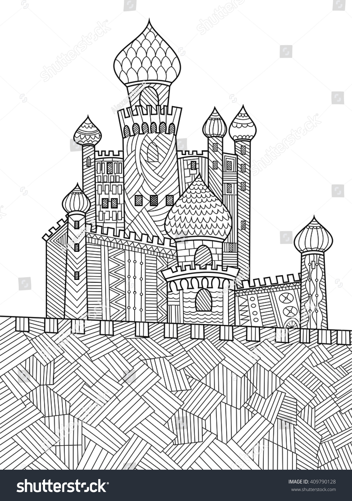 1000+ images about Architecture Coloring Pages for Adults ...