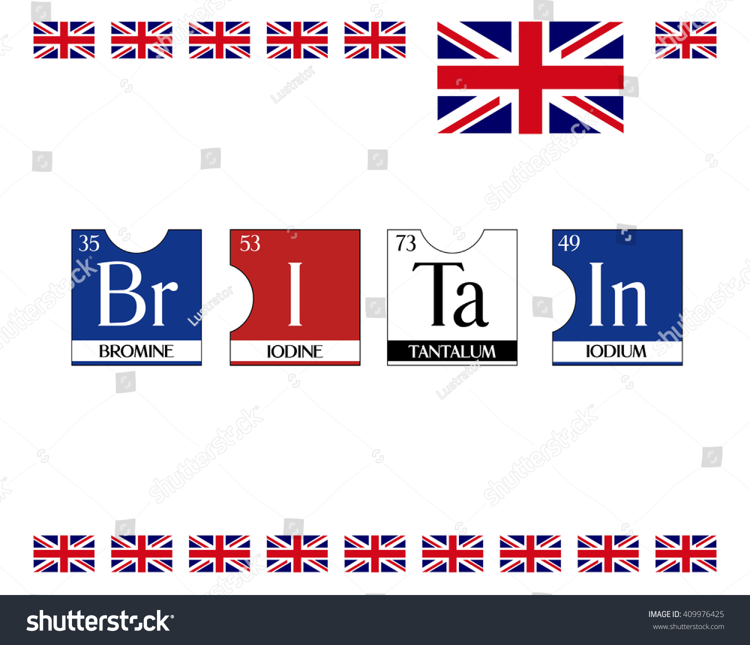 Britain text poster periodic table elements stock vector 409976425 britain text poster from periodic table elements illustration vector cool t shirt print gamestrikefo Choice Image