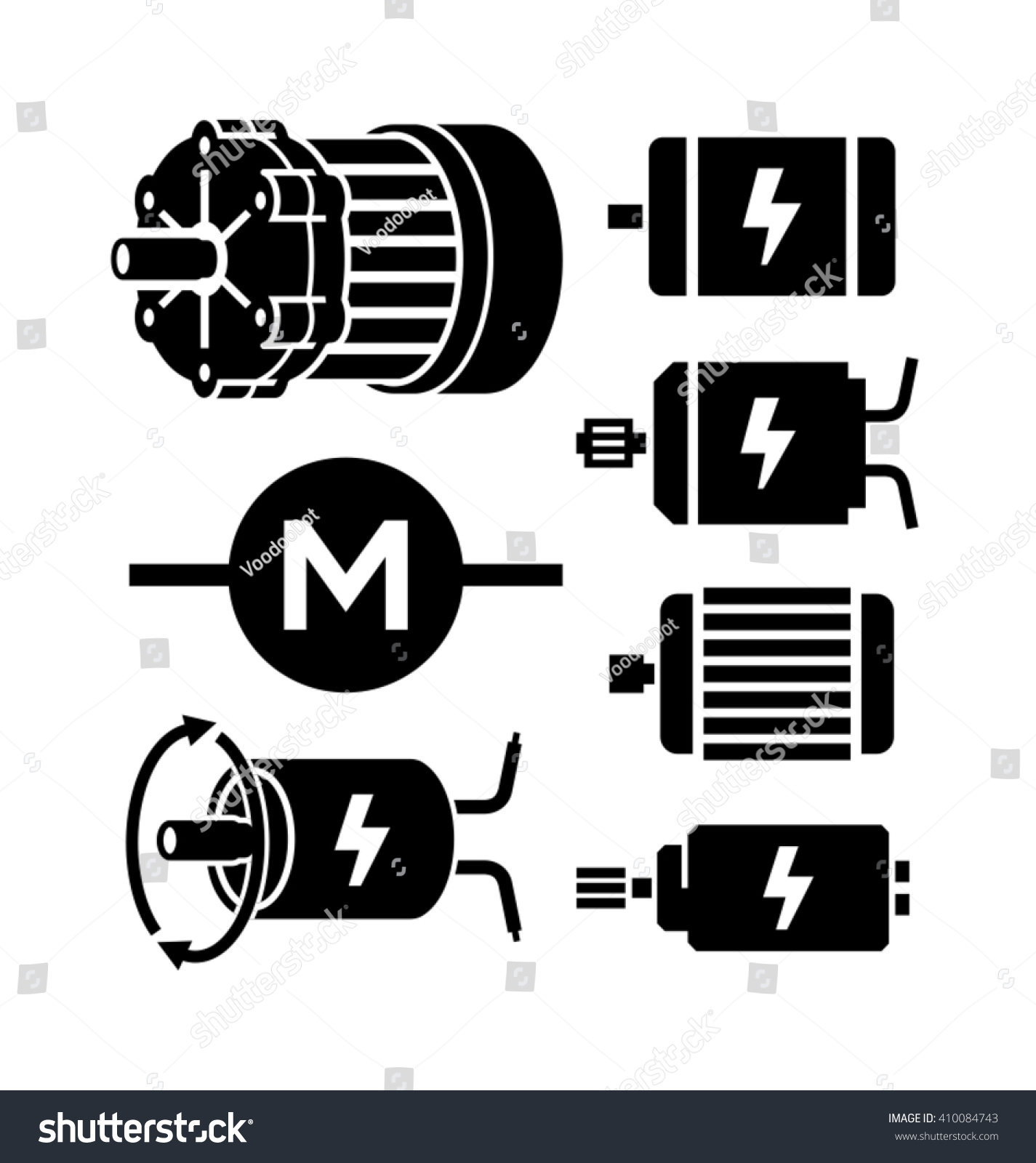 Electric Motor Symbol