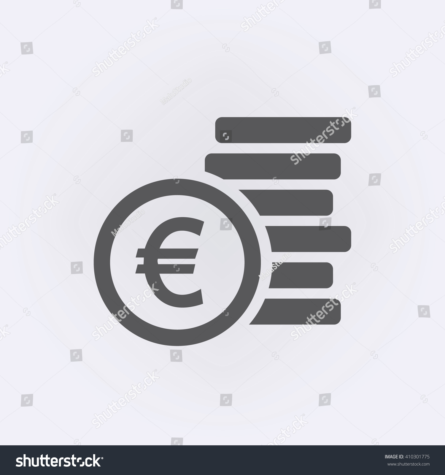 Euro sign money symbol vector illustration stock vector 410301775 euro sign money symbol vector illustration buycottarizona Gallery