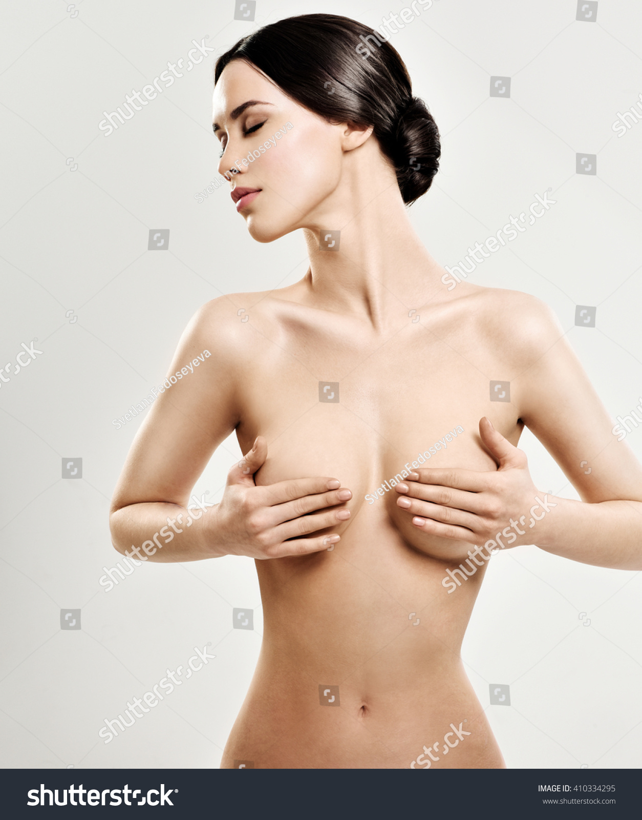 Phrase, simply naked girl clean her body