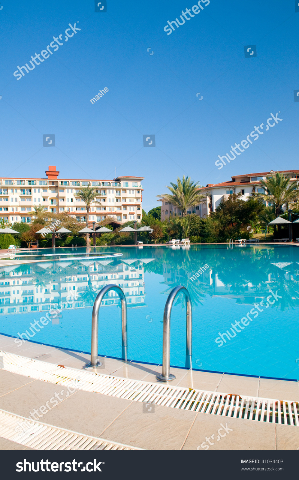 Beautiful swimming pool stock photo 41034403 shutterstock Swimming pool beautiful