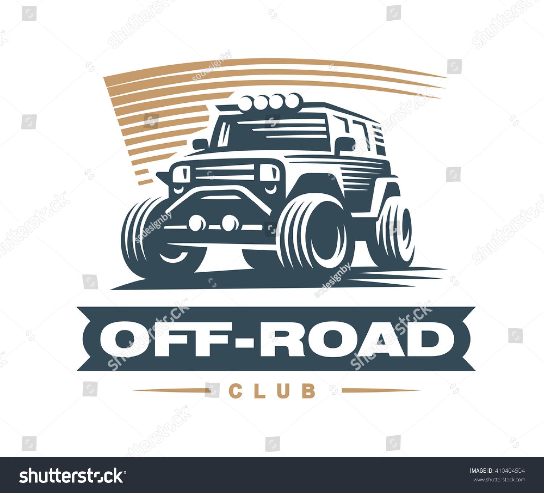 Design car emblem - Off Road Car Logo Illustration Emblem