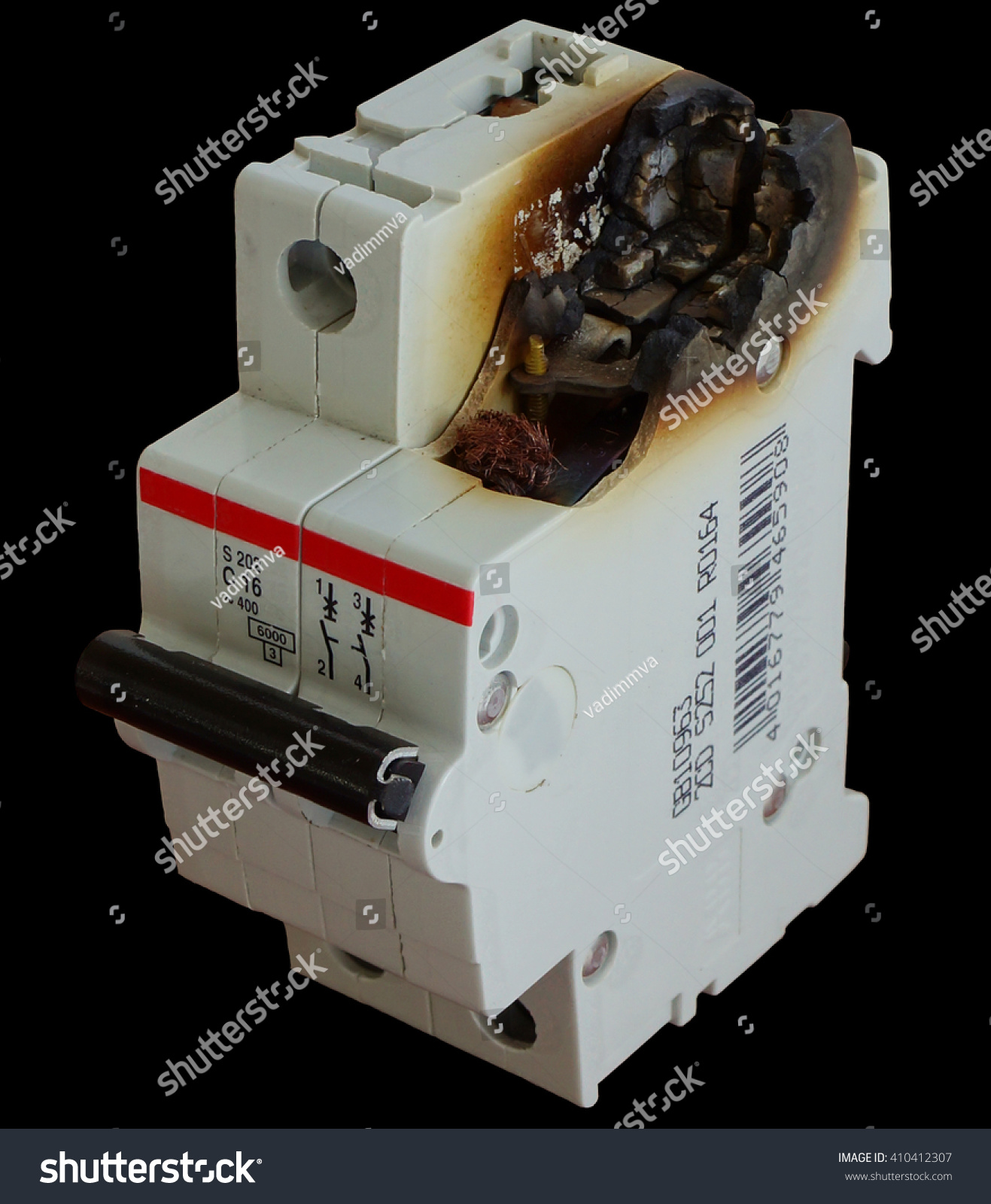 Broken Electric Wire Cable : Electrical circuit broken power fire short plug