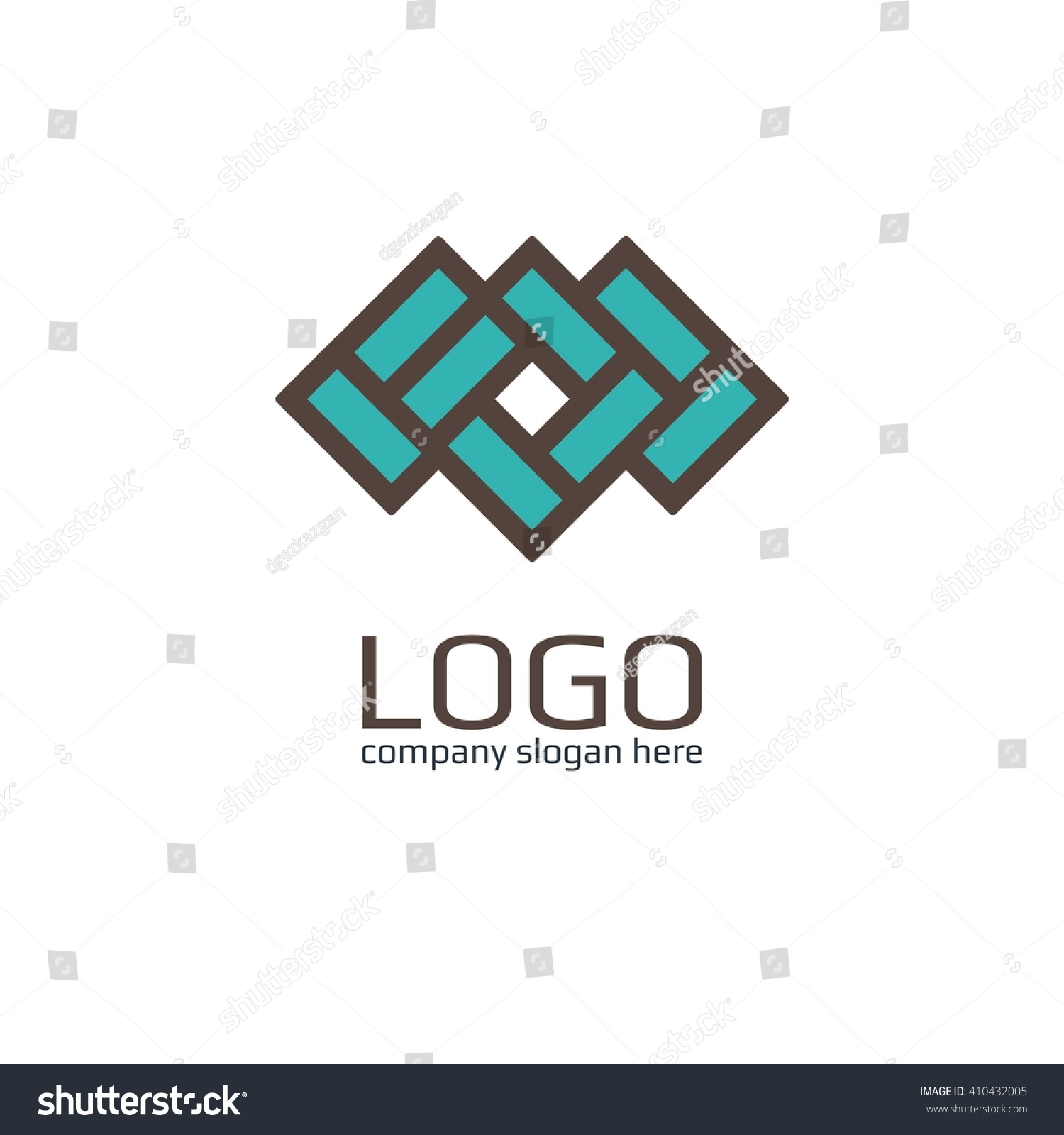 vector icon brick sign business icon stock vector 410432005