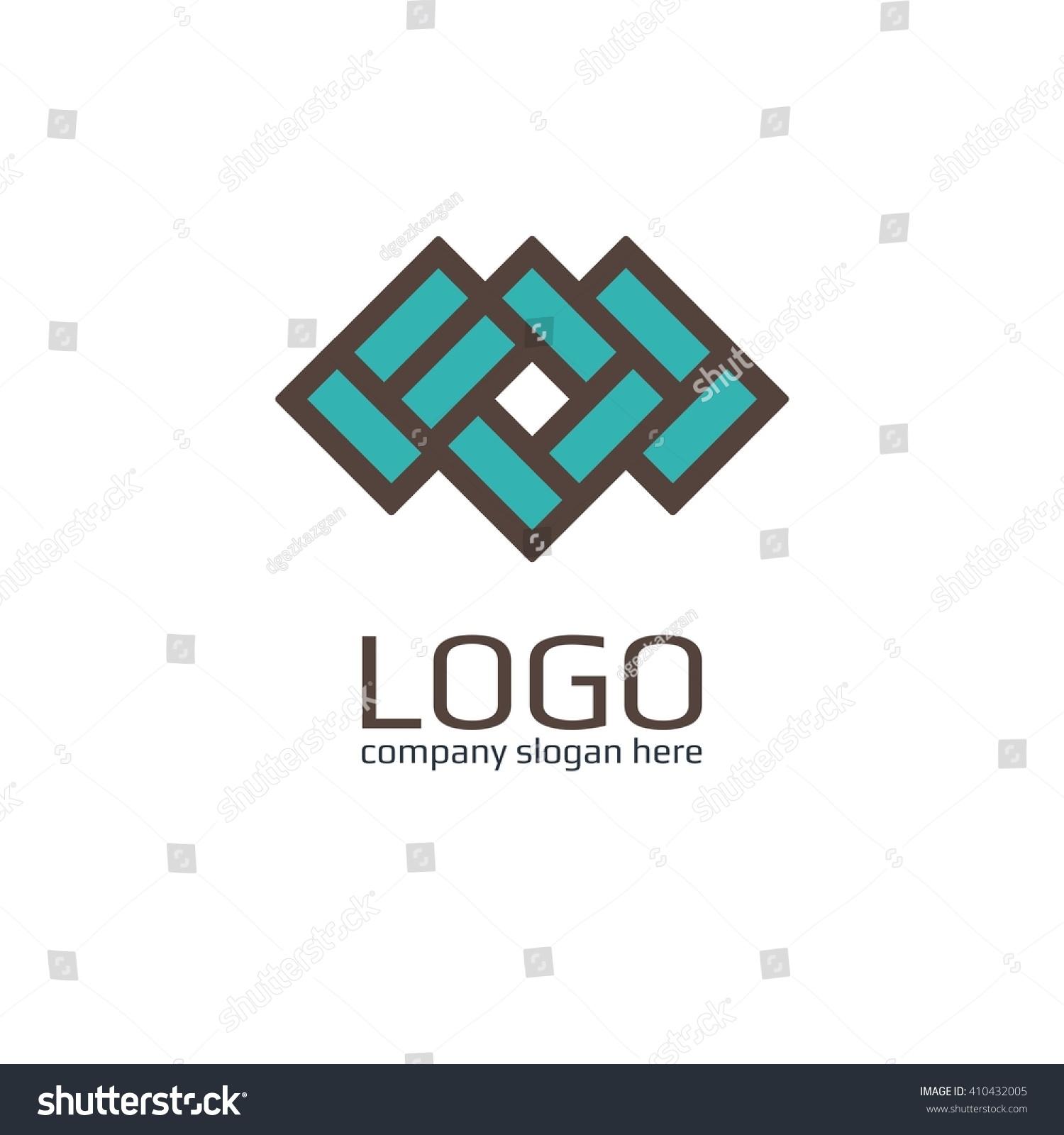 vector icon brick sign business icon stock vector 410432005