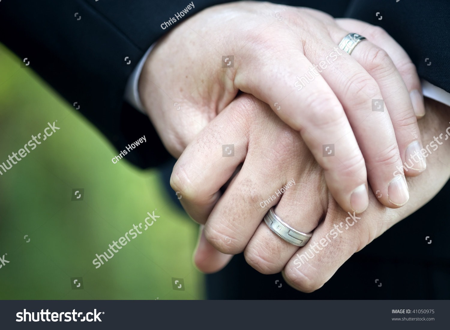 stock photo gay men and their wedding rings gay mens wedding rings Gay Men and their Wedding Rings
