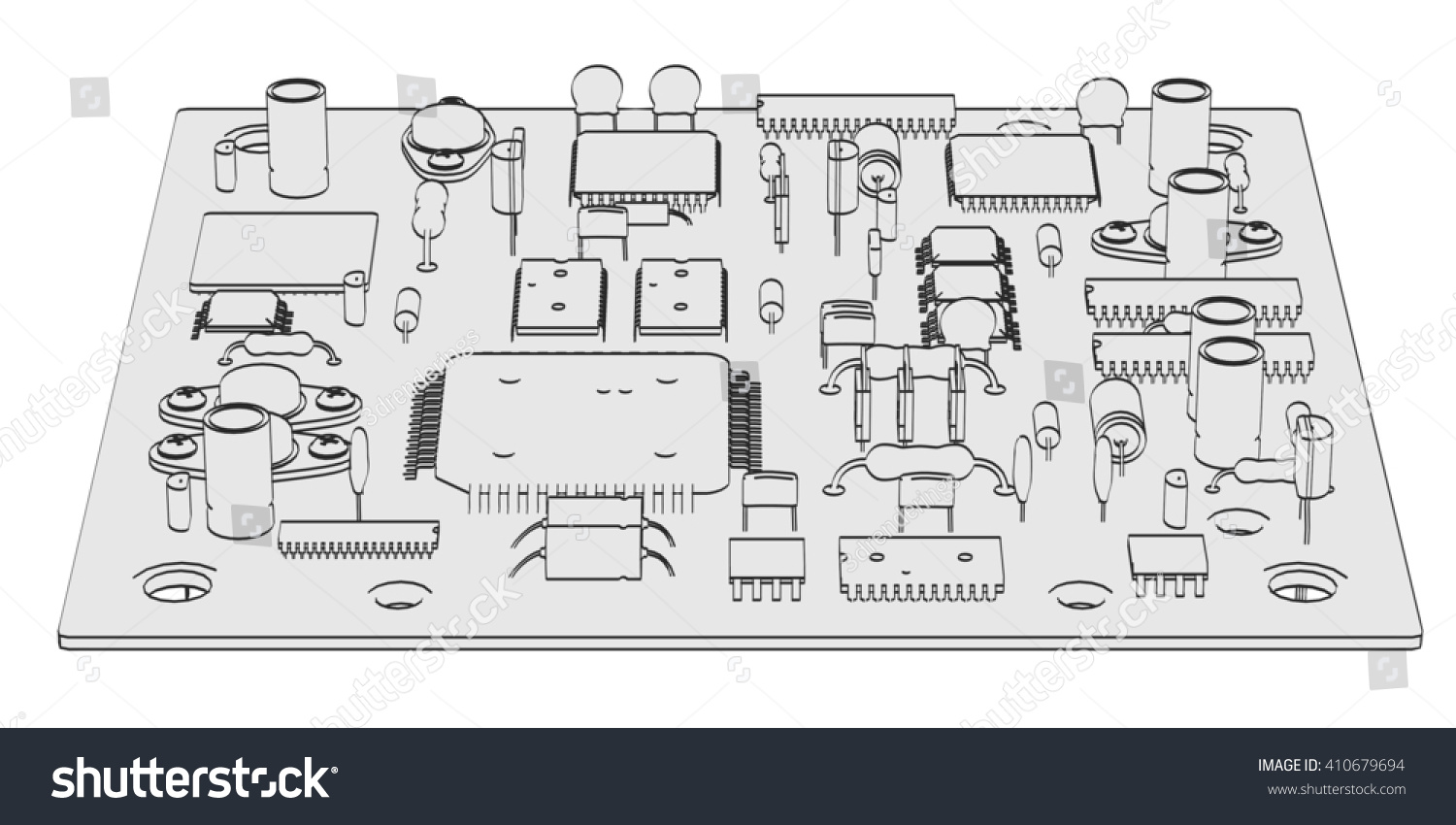 Outstanding Electronic Parts And Symbols Model - Wiring Diagram ...