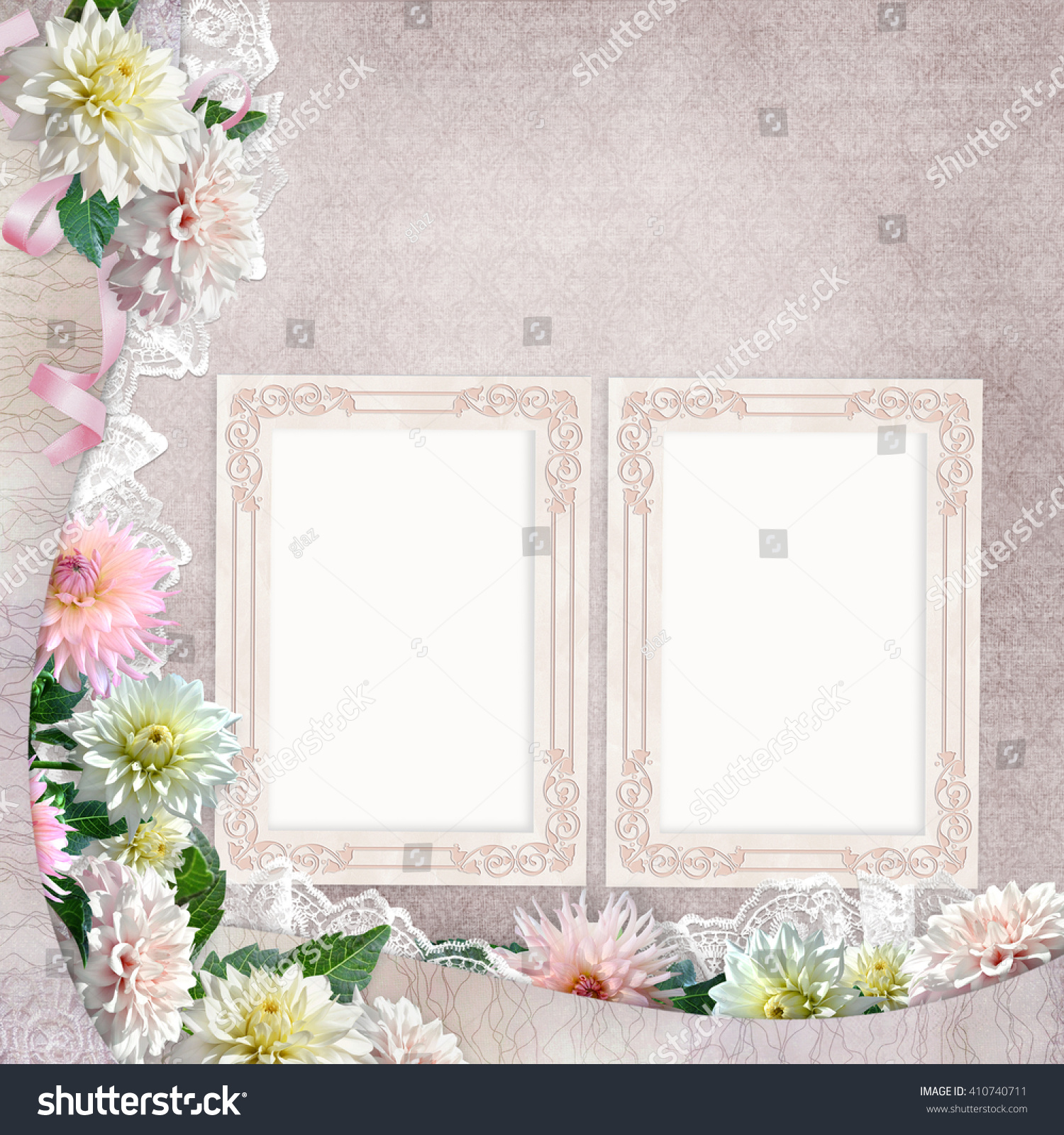Beautiful borders flowers lace frames on stock photo 100 legal beautiful borders with flowers lace and frames on the vintage background izmirmasajfo