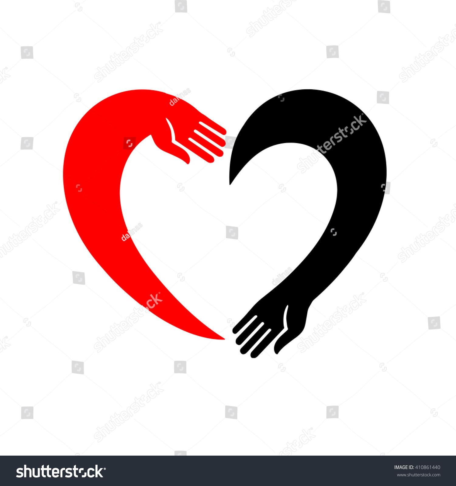 Hand holding heart icon isolated vector stock vector 410861440 hand holding a heart icon isolated vector symbol open empty hands love buycottarizona Gallery
