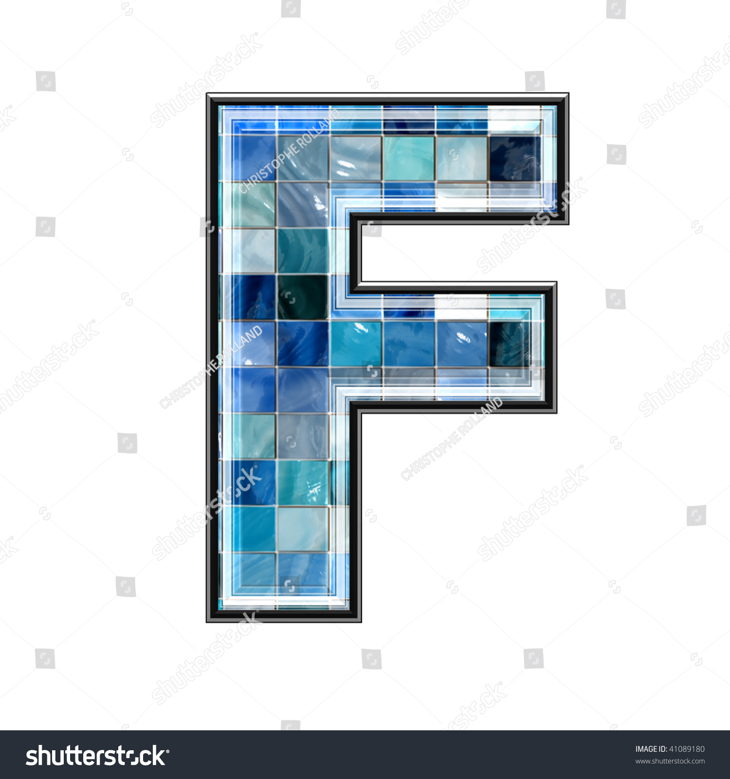 Letter ceramic tiles columbialabelsfo 3d letter ceramic tiles texture f stock illustration 41089180 dailygadgetfo Choice Image