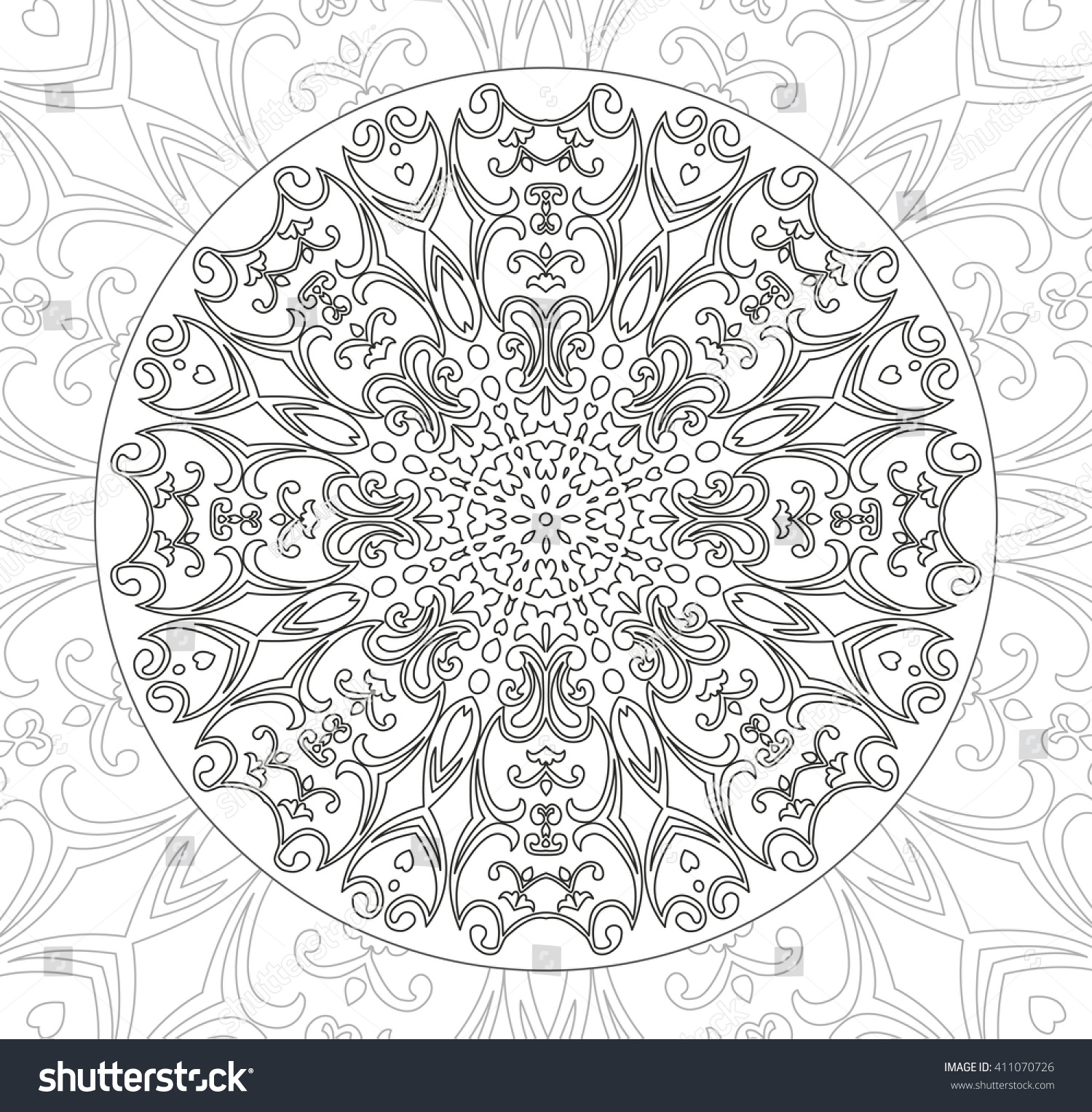 11 Free Printable Adult Coloring Pages | Abstract coloring pages ... | 1527x1500