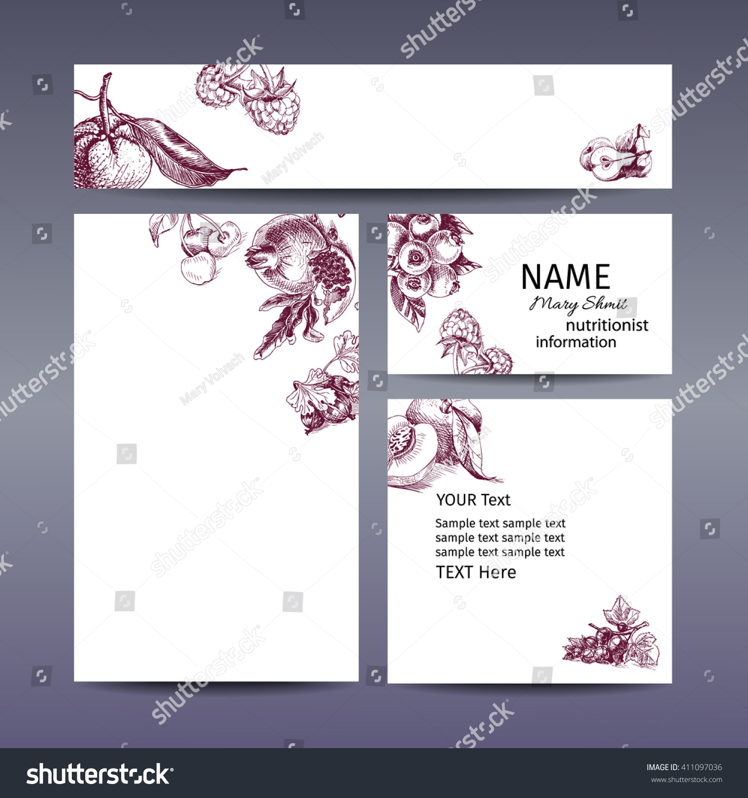 Business card website gallery free business cards corporate identity banner logo business card stock vector corporate identity banner logo business card website design magicingreecefo Choice Image