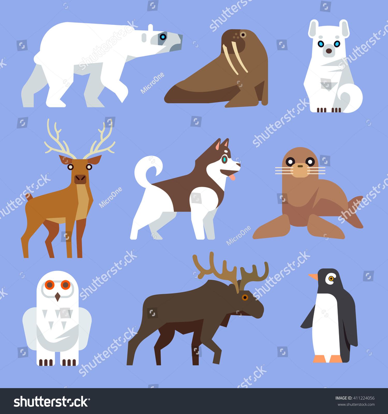 antarctic animals www pixshark com images galleries free polar bear clipart Free Polar Bear Clip Art Black and White