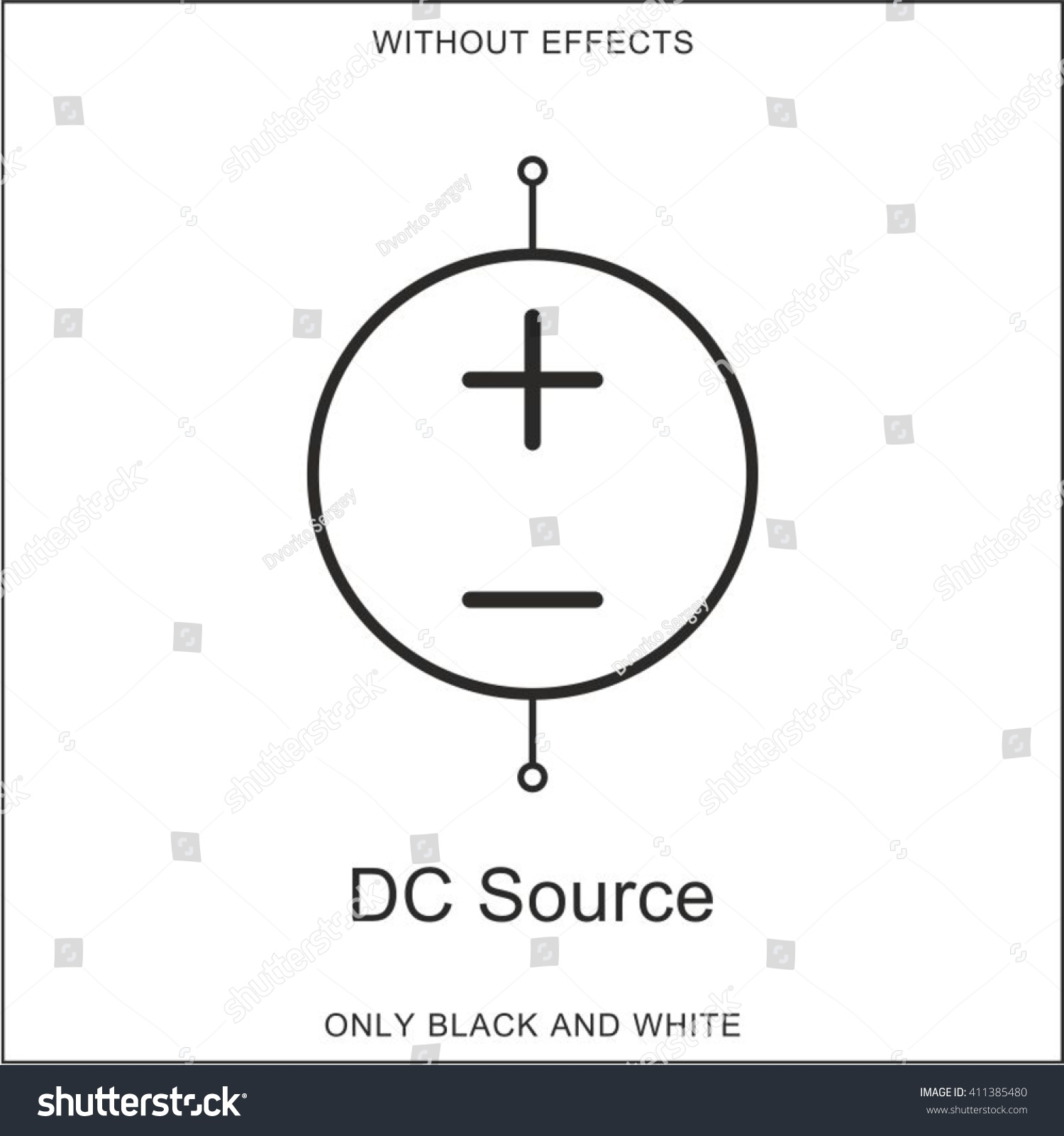 Outstanding Dc Source Symbol Model - Electrical Circuit Diagram ...