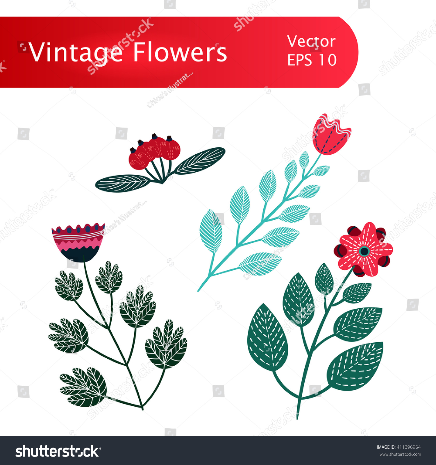 stock-vector-isolated-colorful-vintage-v