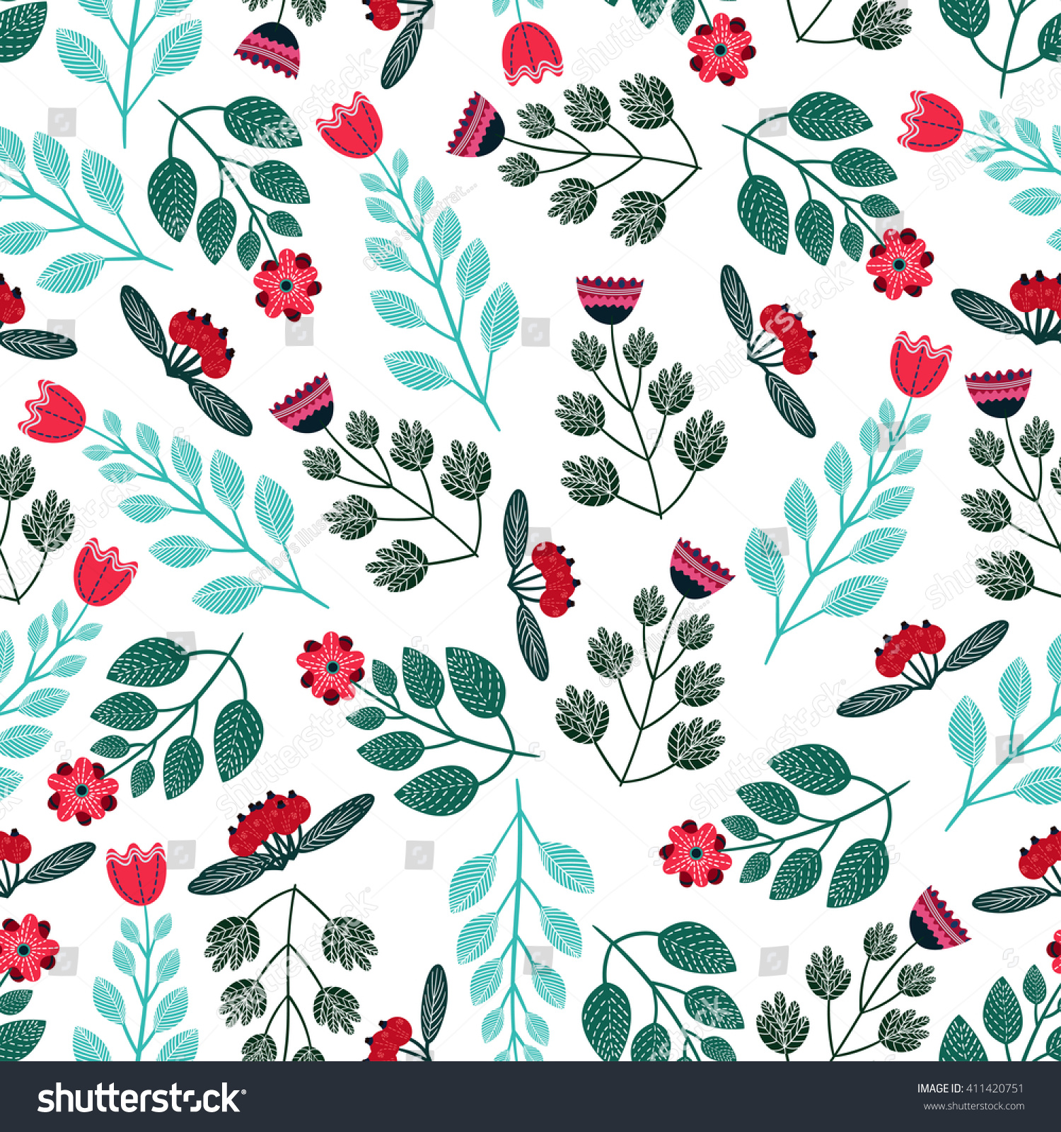 stock-vector-colorful-vintage-flowers-ve