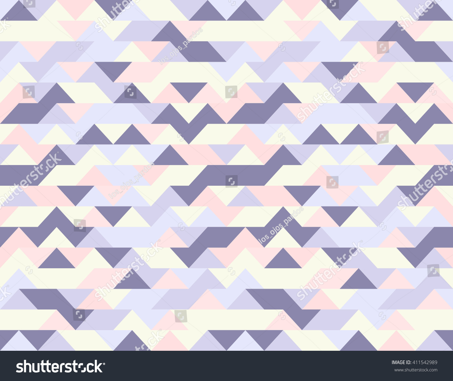 Vector seamless pattern abstract geometric style stock for Object pool design pattern