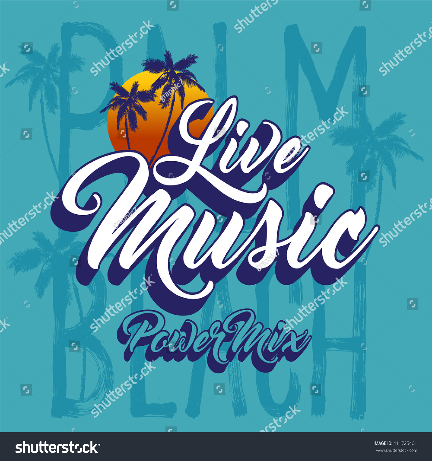 Design t shirt artwork - Slogan Apparel Graphic Design Idea Live Music Apparel Graphic Summer Collection T