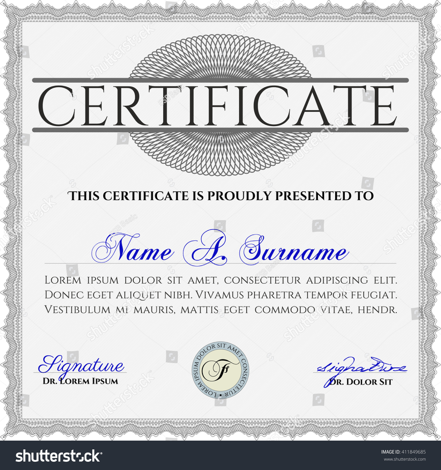 Template of certificate or diploma gallery certificate design money certificate template missing persons template xflitez Gallery