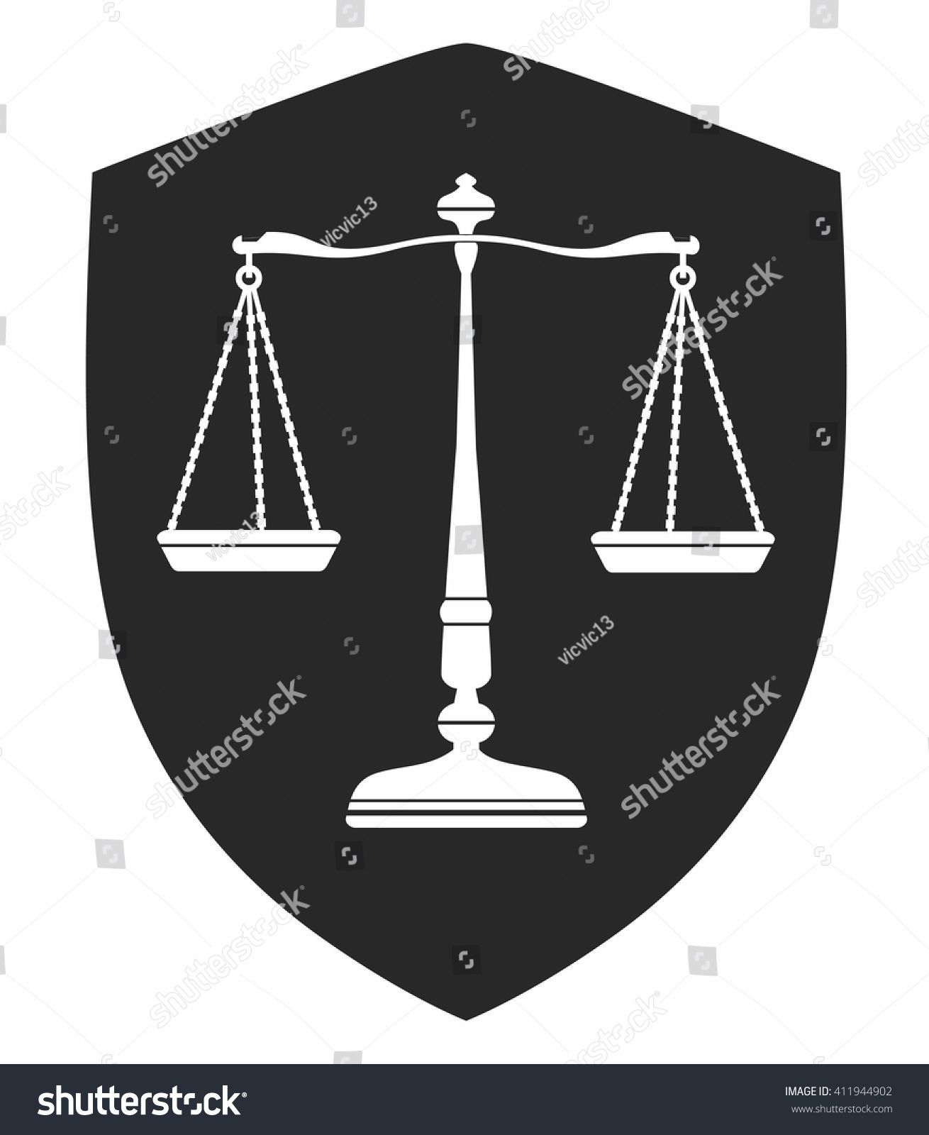 Libra Icon Symbol Balance Bronze Color Stock Vector Royalty Free
