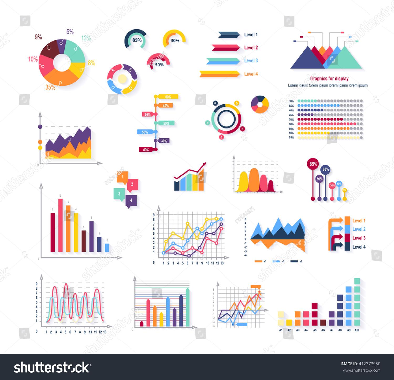 data tools finance diagram graphic chart stock vector. Black Bedroom Furniture Sets. Home Design Ideas