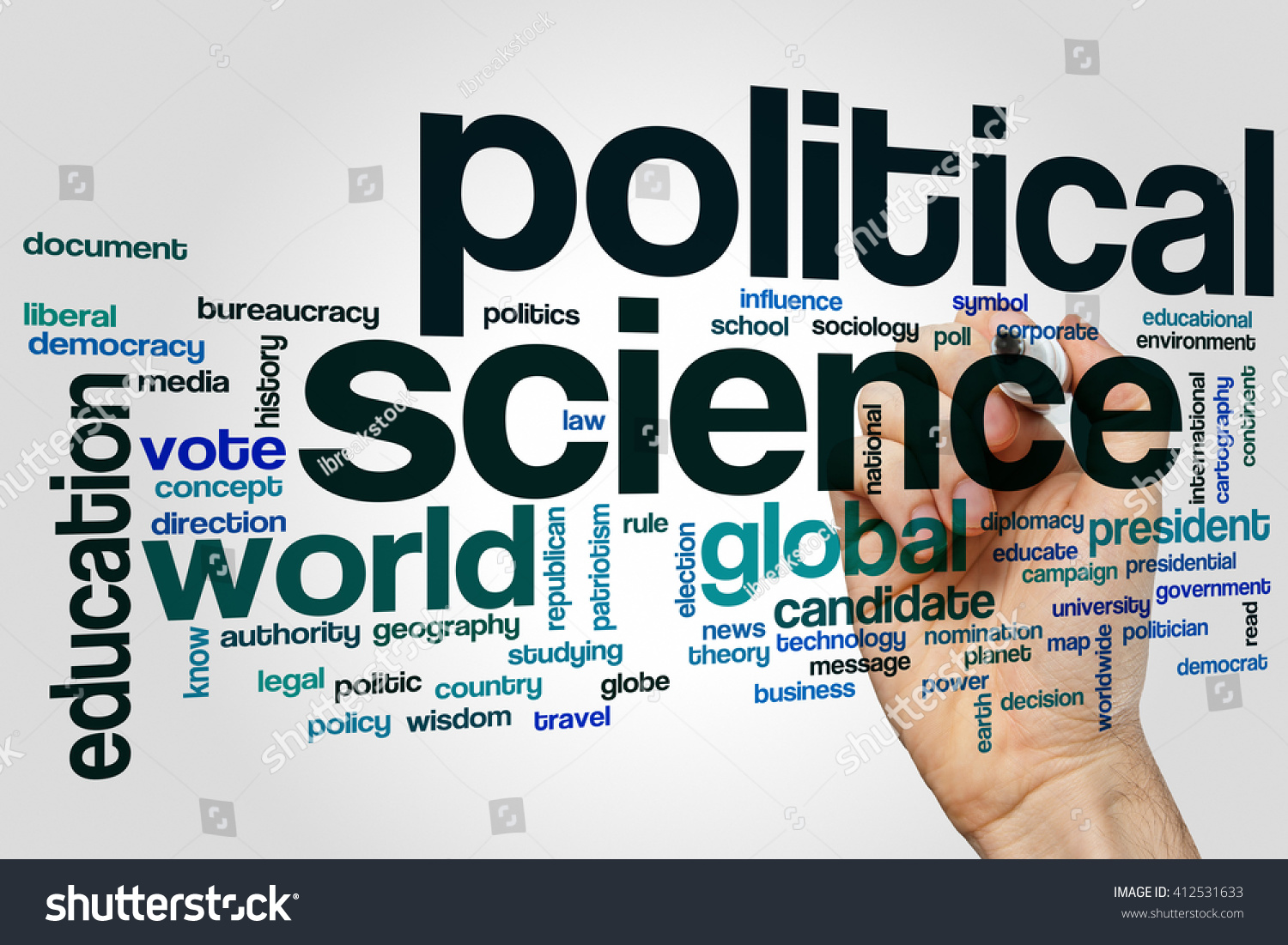 Political science word cloud concept stock photo 412531633 political science word cloud concept biocorpaavc Choice Image
