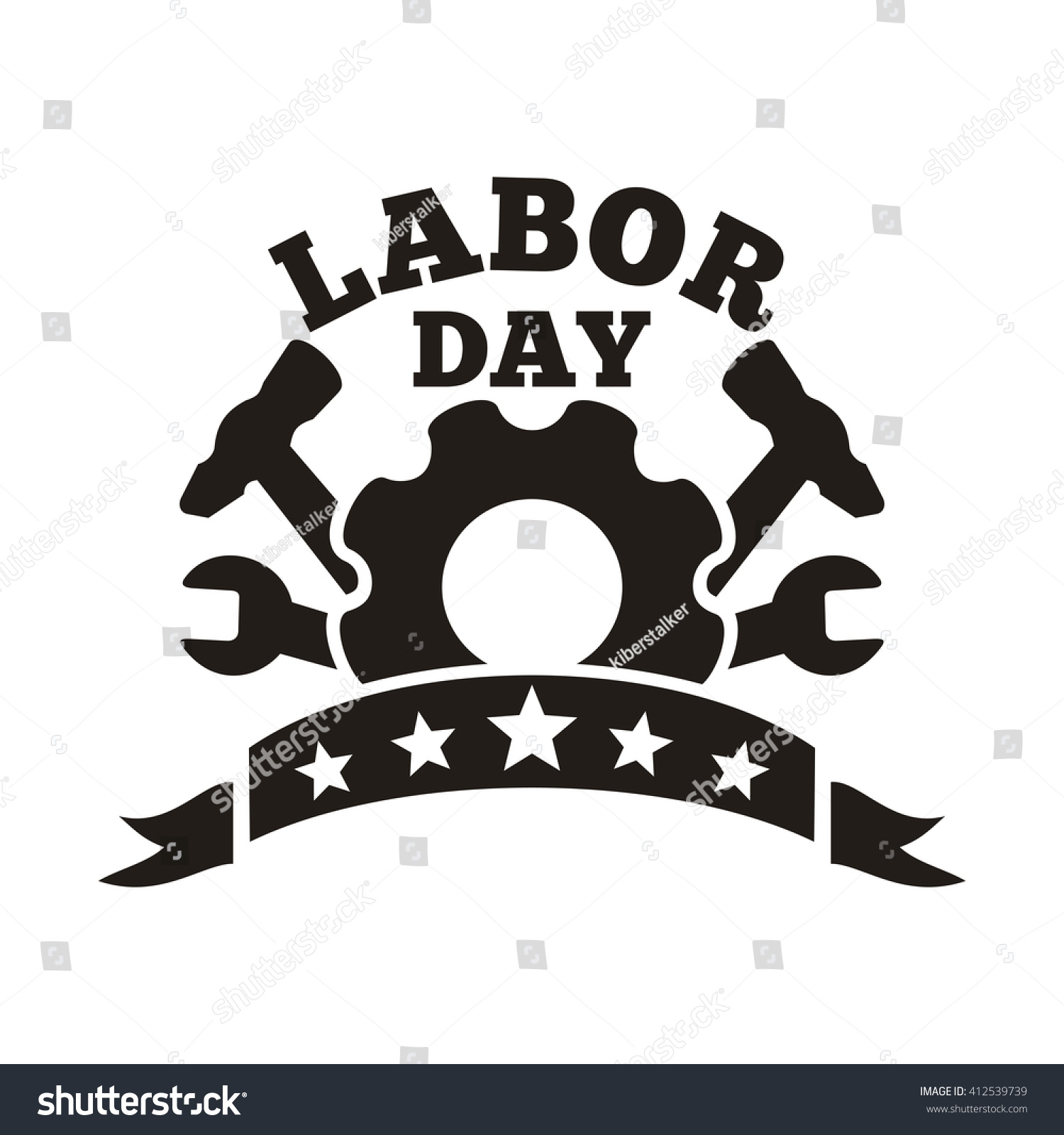 Labor day logo international workers day stock vector 412539739 labor day logo international workers day may day workers day card buycottarizona Choice Image