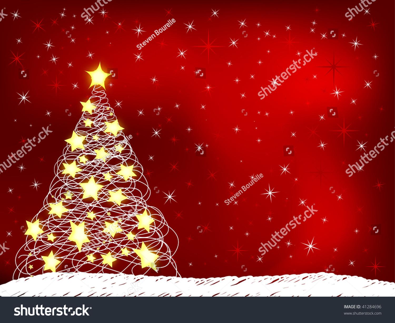 christmas themed background stock illustration 41284696 - shutterstock