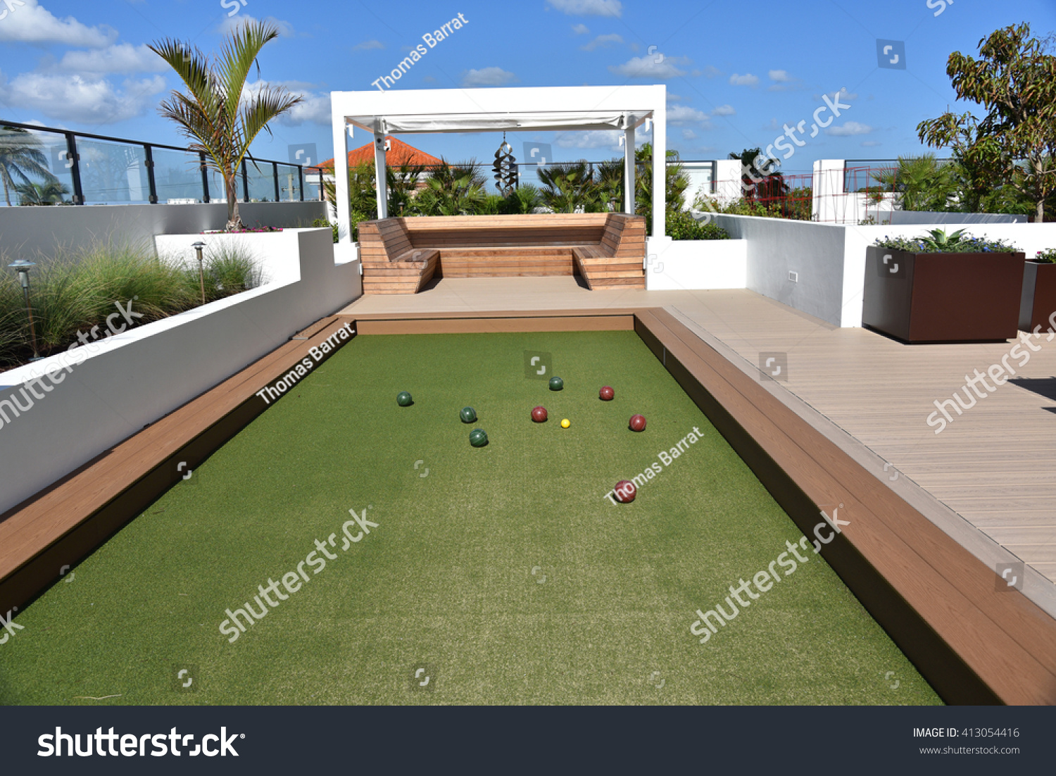 Build A Bocce Ball Court texas star dining room table round dining ...
