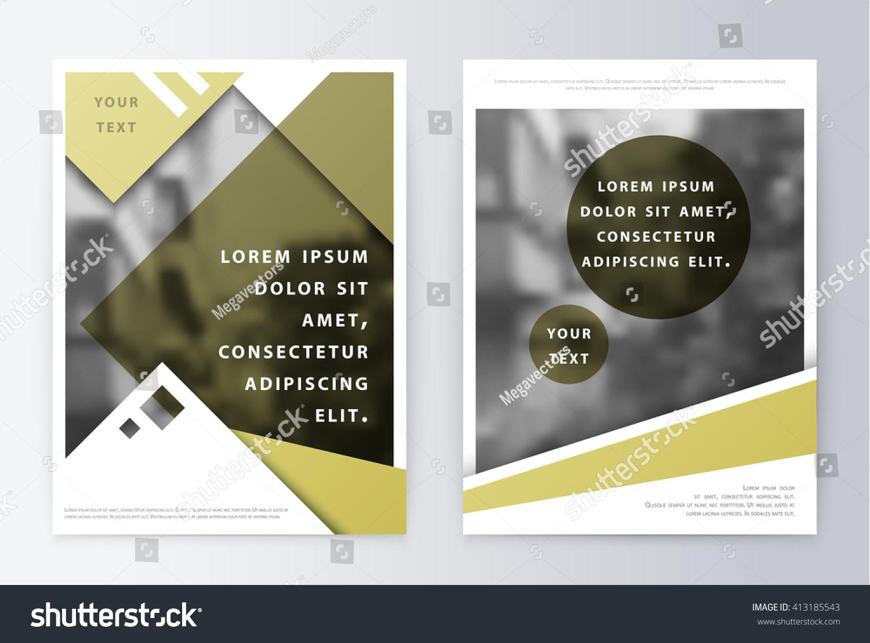 Business Brochure Brochure Flyer Design Brochure Vectores En Stock ...