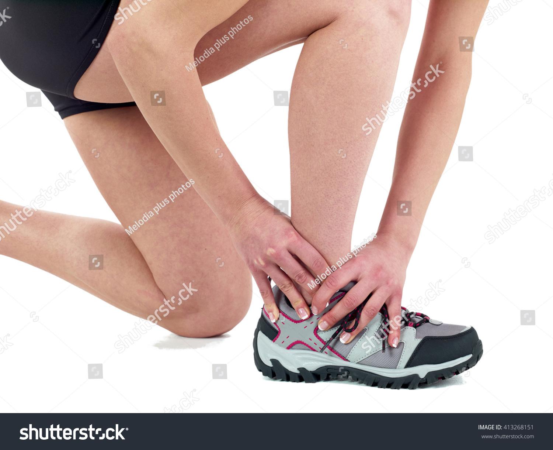 Human Ankle Pain Anatomy Injury Caused Stock Photo (Royalty Free ...