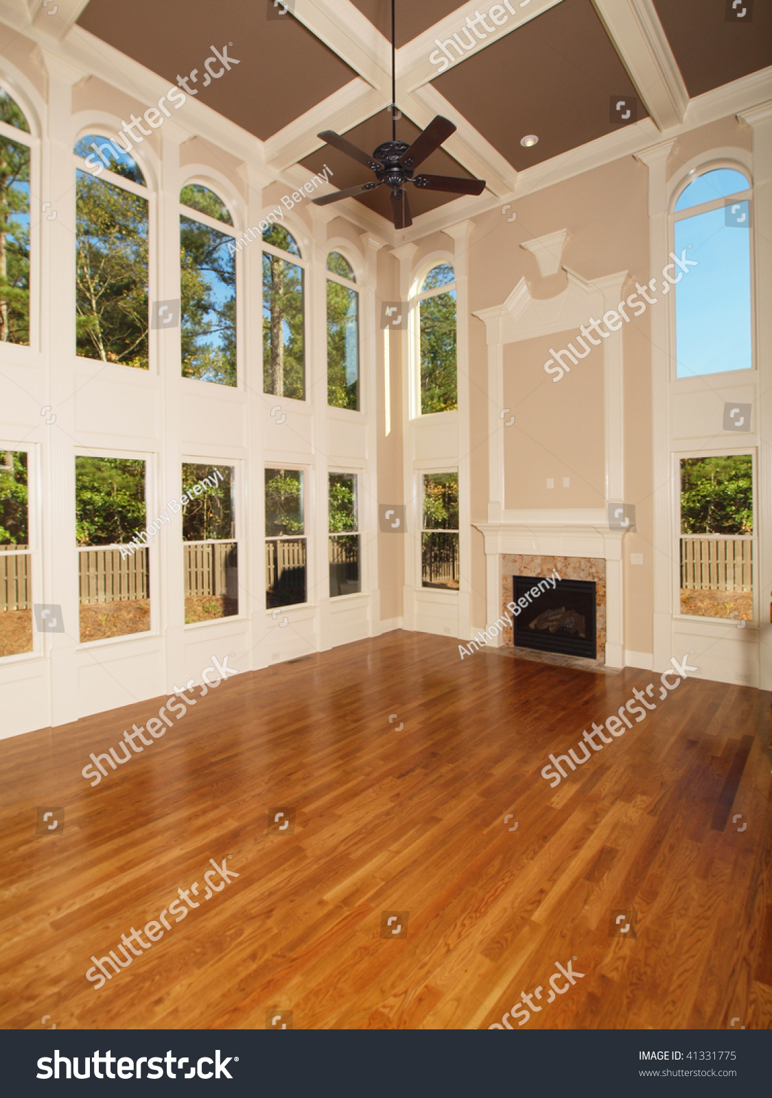 model luxury home interior living room with window wall ez canvas